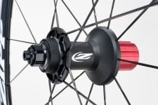 The Zipp 30 Clincher rear hub.