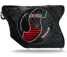 The Scicon Aerocomfort Triathlon travel bag.