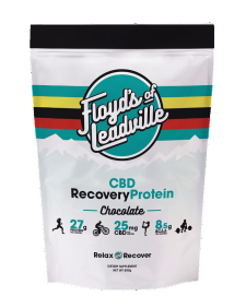 Floyd's CBD supplements are sold through bike shops.