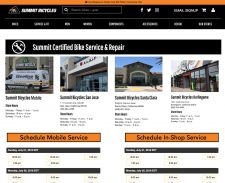 How scheduling will be displayed on a retailer's website.