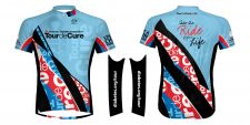 Primal's Tour de Cure jersey and armwarmers
