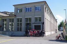 Specialized's new Swiss building is a former paper mill.