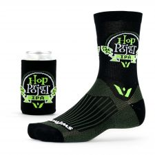 The Vision Five Beer socks come with matching beer sleeves.