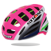 The Suomy Gun Wind road helmet, in Lampre team colors.