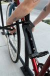 Lobster Lock is the first folding attached bike lock.