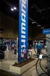 Shimano's 2020 IceBike display, from the event's Facebook page.