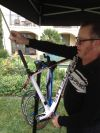 Campagnolo's Daniel Large shows how to install a Campy power unit.