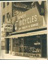 Jones Bicycles' Second Street store in Long Beach in an undated historical photo