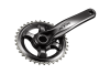 The new single chainring M9000 crank.