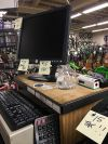 The cash register at Bicycle Way of Life in Eugene this week.