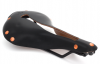 The T-Series TruLeather saddle in black.
