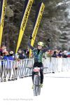Will Ross winning the 2016 Fat Bike Birkie race.