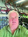 Hal Honeyman, The Bike Rack, St. Charles, Ill.