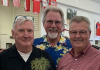 Left to right: Dennis Uphoff, Gary Moore, Jim Burrus