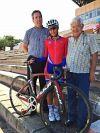 l to r: Pat Cunnane, Arlenis Sierra and Jose Manuel Pelaez,