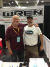 Wren (left) and Cuomo.